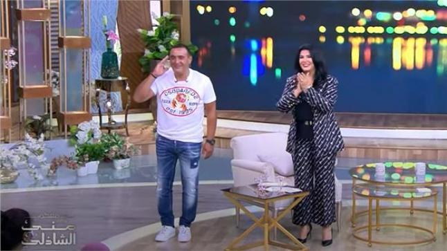 قريبا: الفنان أحمد السقا ضيف في برنامج مني الشاذلي