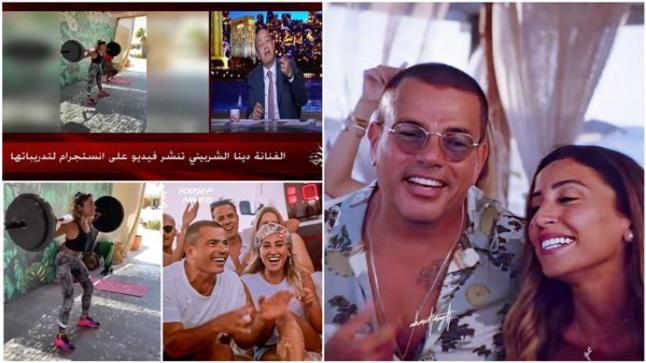 تعليق الإعلامي عمرو أديب عن تدريبات الفنانة دينا الشربيني