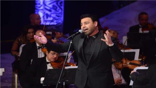 حفل الفنان عاصي الحلاني في مهرجان الموسيقى العربية