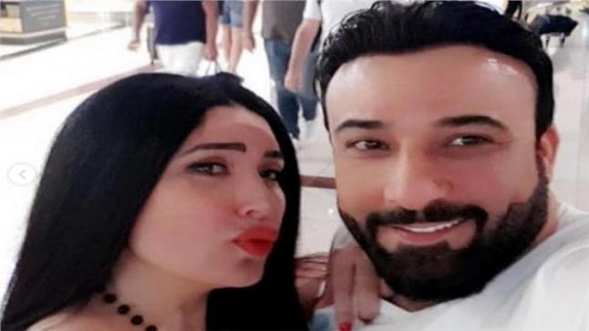 الفنانة عبير صبري تحتفل بعيد ميلاد زوجها أيمن البياع بطريقة رومانسية