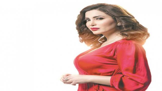 الفنانة نسرين طافش تنقل إقامتها بالقاهرة بسبب مسلسل المداح