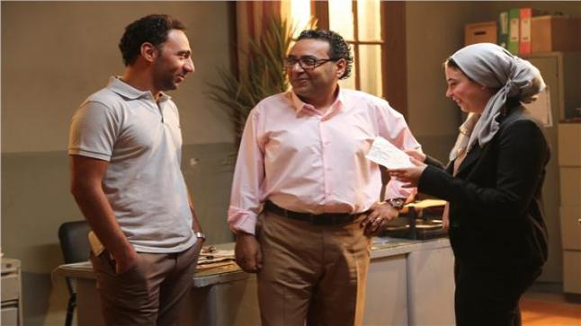 الفنان خالد الصاوي أعلن بدء تصوير فيلم للإيجار مع فريق العمل
