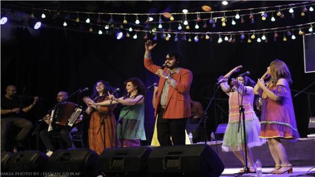 فريق بهججة يحتفل بالعيد الخامس مع جمهور ساقية الصاوي