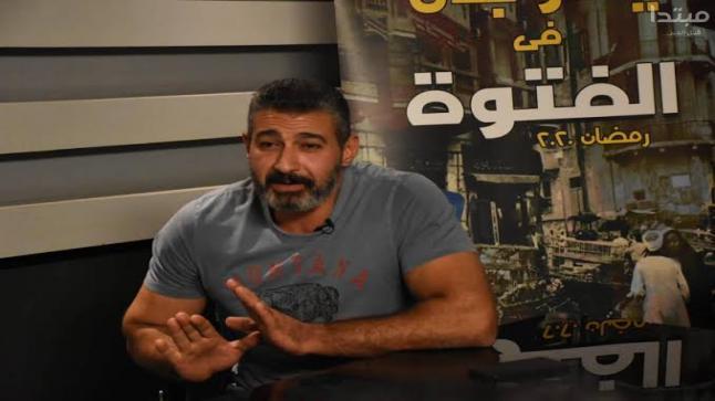 """ياسر جلال يستعد لتصوير """"الفتوة"""""""