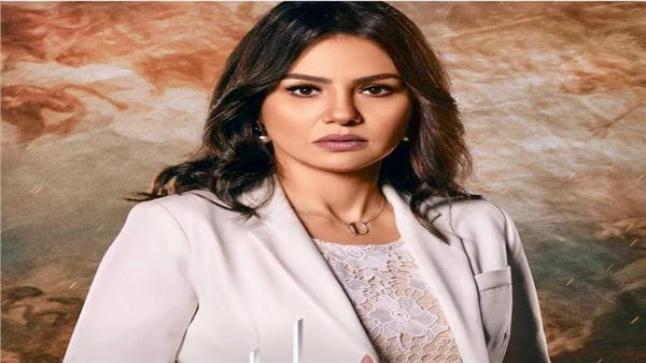 الفنانة دينا فؤاد تواصل تصوير مسلسل جمال الحريم