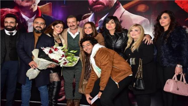العرض الخاص لفيلم خان تيولا بحضور حنان مطاوع وأيتن عامر وبشرى